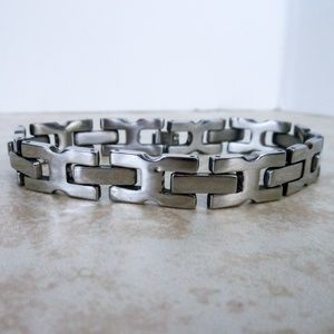Other - Men stainless steel  chain link bracelet